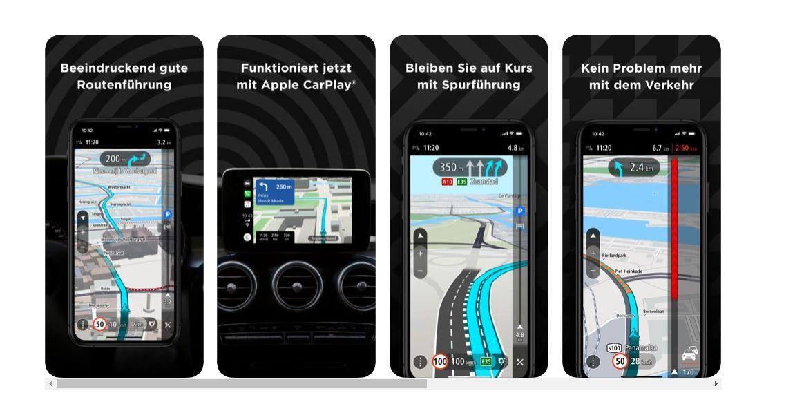Tomtom Navi App Endlich Fur Carplay Und Neues Abo Modell Pc Welt