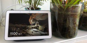 Google Nest Hub: Smart Speaker mit Display im Test