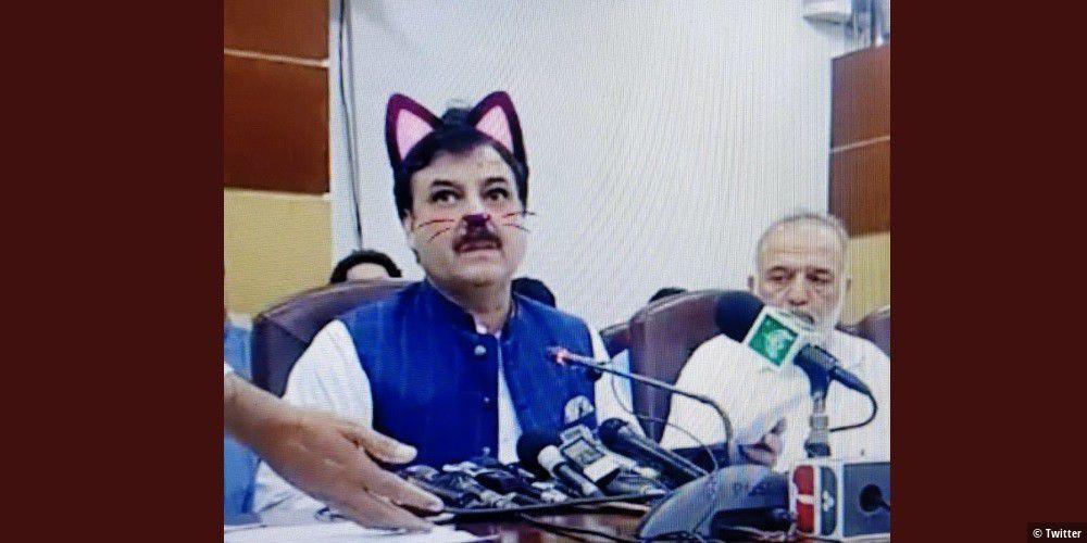 Panne-Politiker-mit-Katzenohren-im-Live-Stream