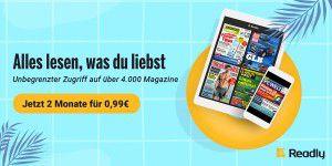 8468df6958 Zeitschriften-Flatrate für nur 0,99 Euro/Monat