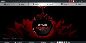 GPU-Treiber: AMD Radeon Software Adrenalin Edition
