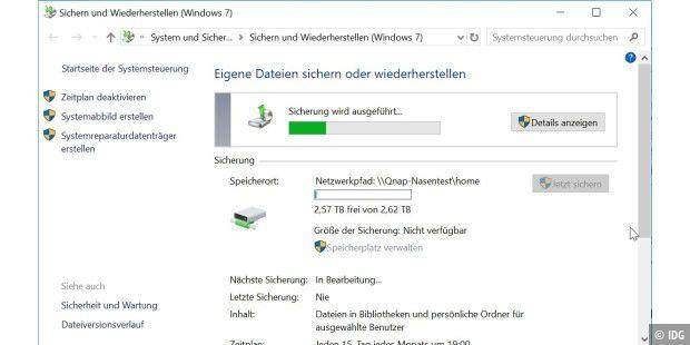 Backup vom NAS: Darauf müssen Sie achten - PC-WELT