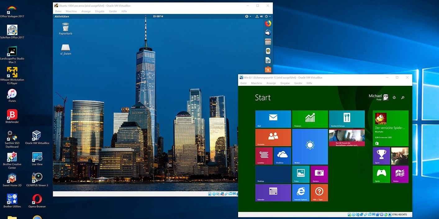 Virtualbox vs  Vmware vs  Hyper-V: Der beste virtuelle PC - PC-WELT