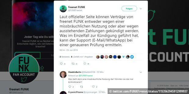 Freenet Funk bestätigt Kündigungen für illegale