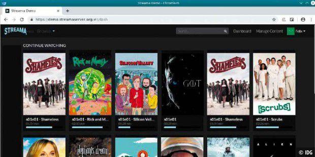 Streama: Netflix für die eigene Filmsammlung
