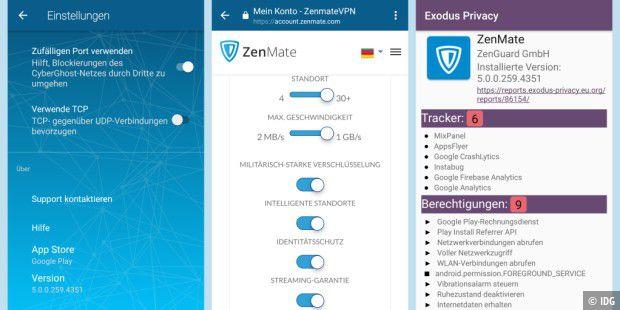 Zenmate Vpn Mit Neuer Software Im Test Pc Welt