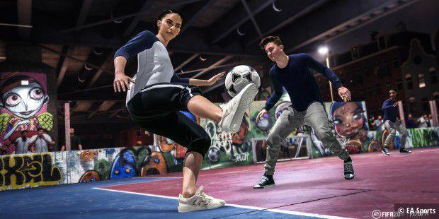FIFA 20 angespielt: Straßenfußball sorgt für den neuen Kick