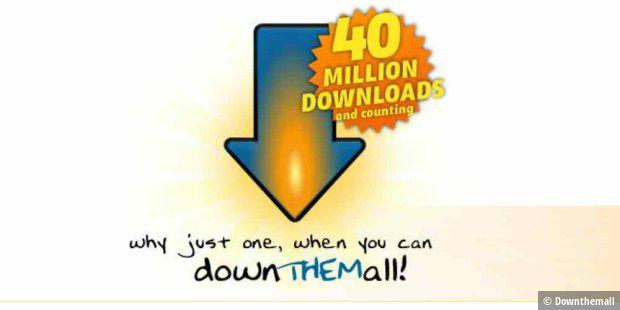 DownThemAll: Beliebtes Firefox-Addon wieder da