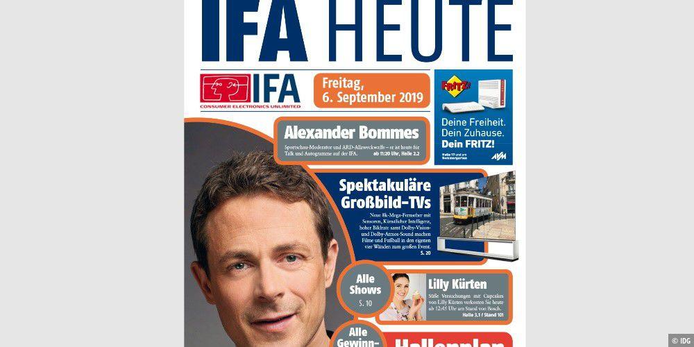 IFA heute: Offizielle Messe- Zeitung zum Download