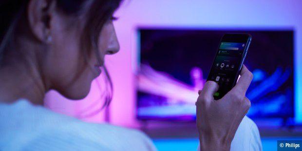 Philips Hue Lampen Mit Tv Synchronisieren Dank Philips Hue