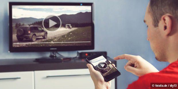 Handy Mit Fernseher Verbinden Und Kabellos Bildschirm Spiegeln Pc Welt