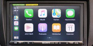 Test: Sony-Autoradio mit Carplay, Android Auto & DAB+