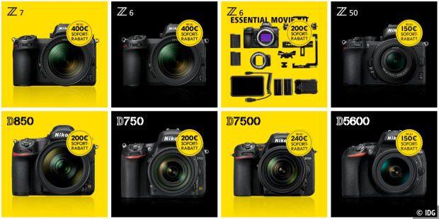 Nikon legt Rabatte auf: Weihnachten im Blick