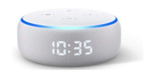 Amazon Echo Dot 3. Gen. mit LED-Uhr im Test
