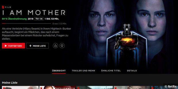 I Am Mother Netflix Deutschland