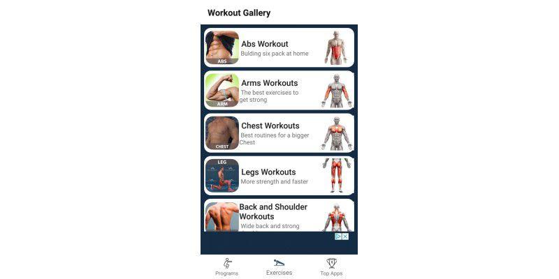 Beste Gewichtsverlust Übungen App