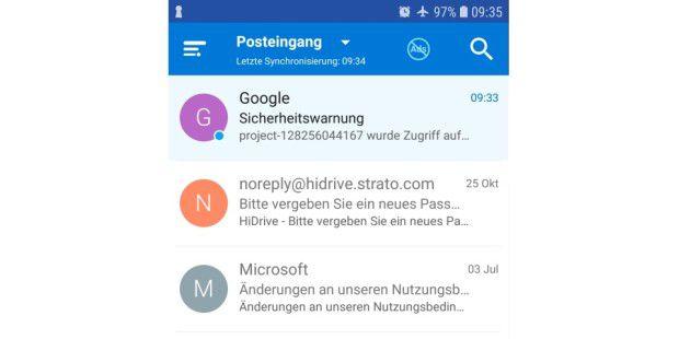 Sicherer email provider