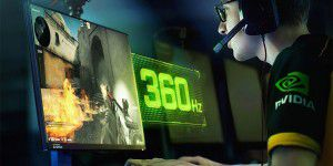 Nvidia: Gaming-Monitore mit 360 Hz