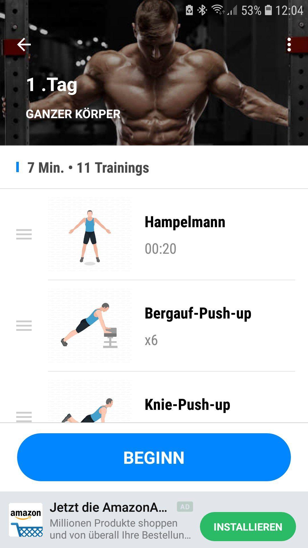 Beste Gewichtsverlust Übungen ohne Ausrüstung