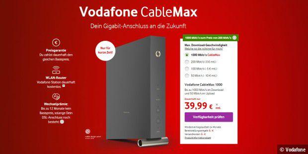 Vodafone 1000 Mbit