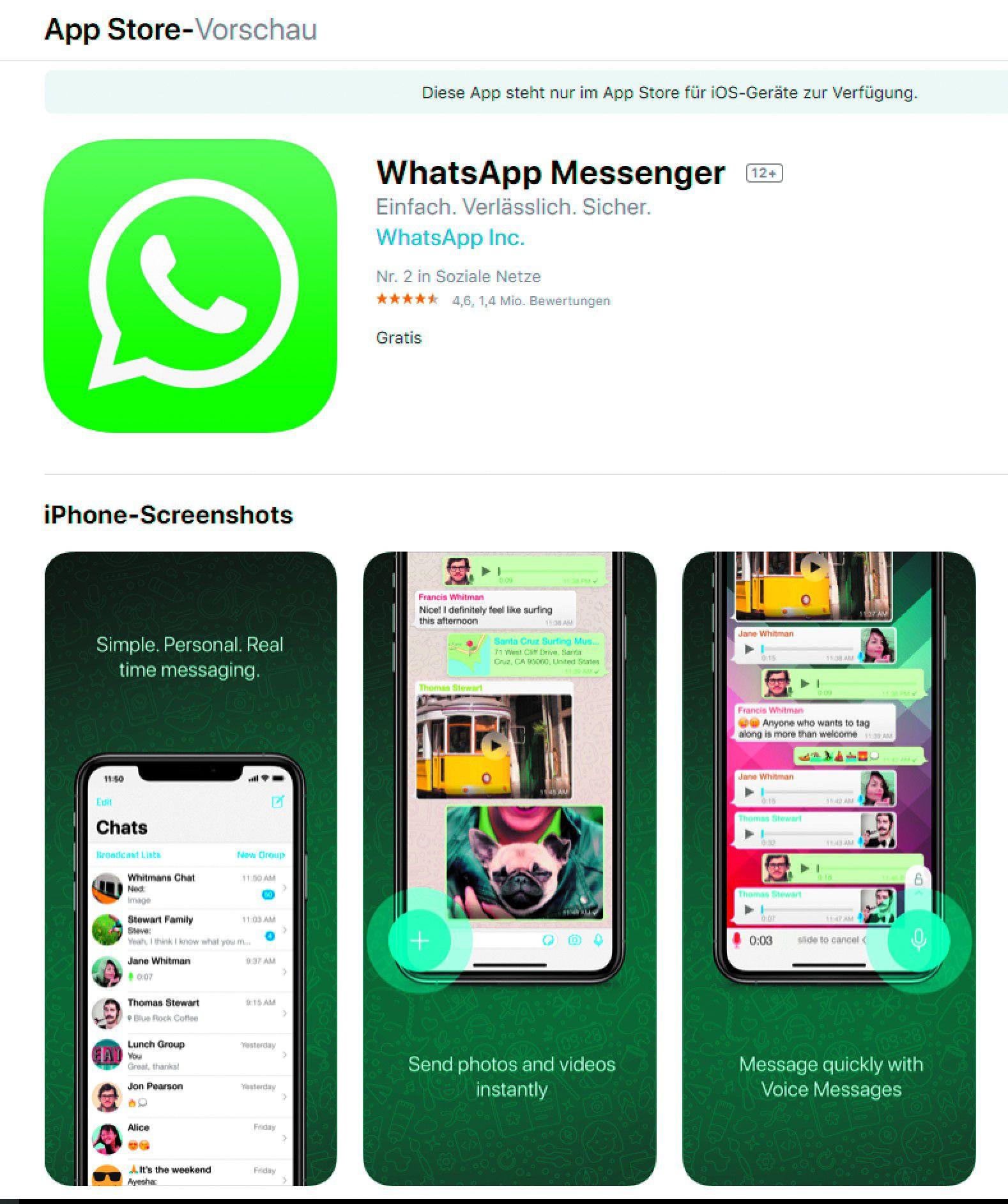 Whatsapp Fingerabdruck Deaktivieren