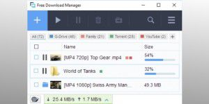 Datenübertragung: Free Download Manager