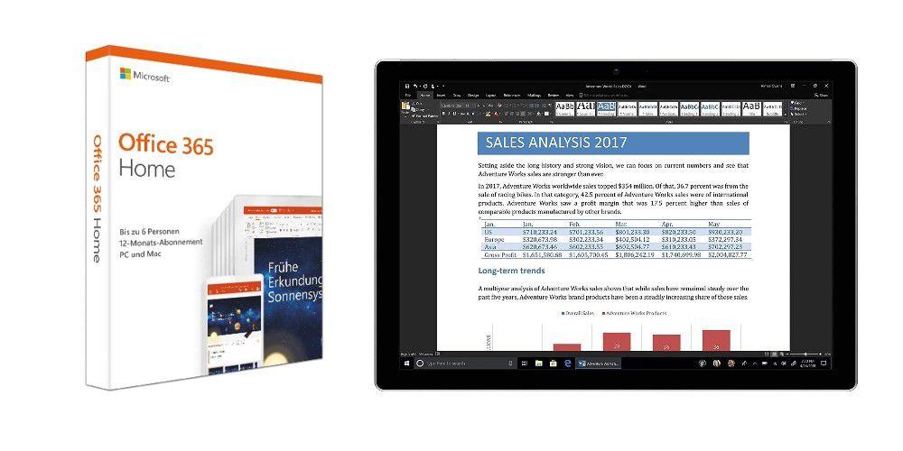 Office 365 Home zum Top-Preis bei Amazon