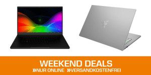 Weekend-Deals: Razer-Notebooks zu Top-Preisen