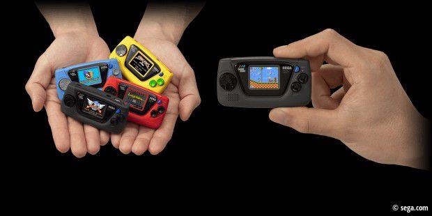 Mini-Handheld: Sega kündigt Game Gear Micro an