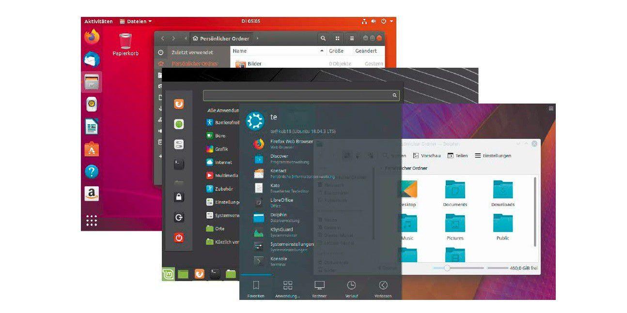 Linux Desktops 20 Welcher passt zu Ihnen   PC WELT