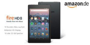 Amazon-Tablet Fire HD 8 für unter 80 Euro