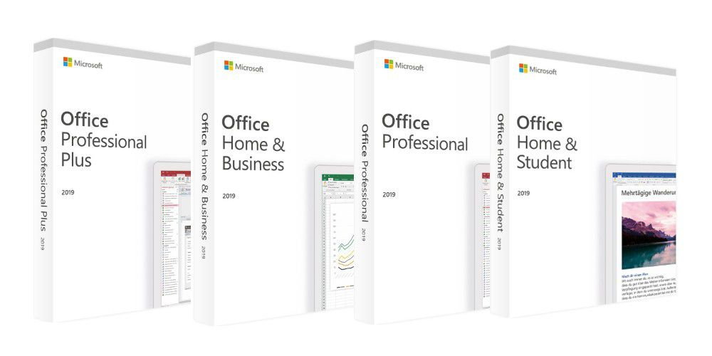 Microsoft Office 2019: Non-Abo-Version günstig kaufen