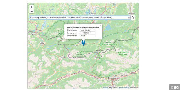 deutschlandkarte höhenmeter Google Maps: So erhalten Sie Höhenangaben und Höhenmeter   PC WELT
