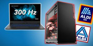 300 Hz-Laptop & Gaming-Monster mit 10900K bei Aldi