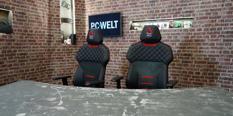 Test Backforce One Ergonomischer Gaming Stuhl Made In Germany Pc Welt