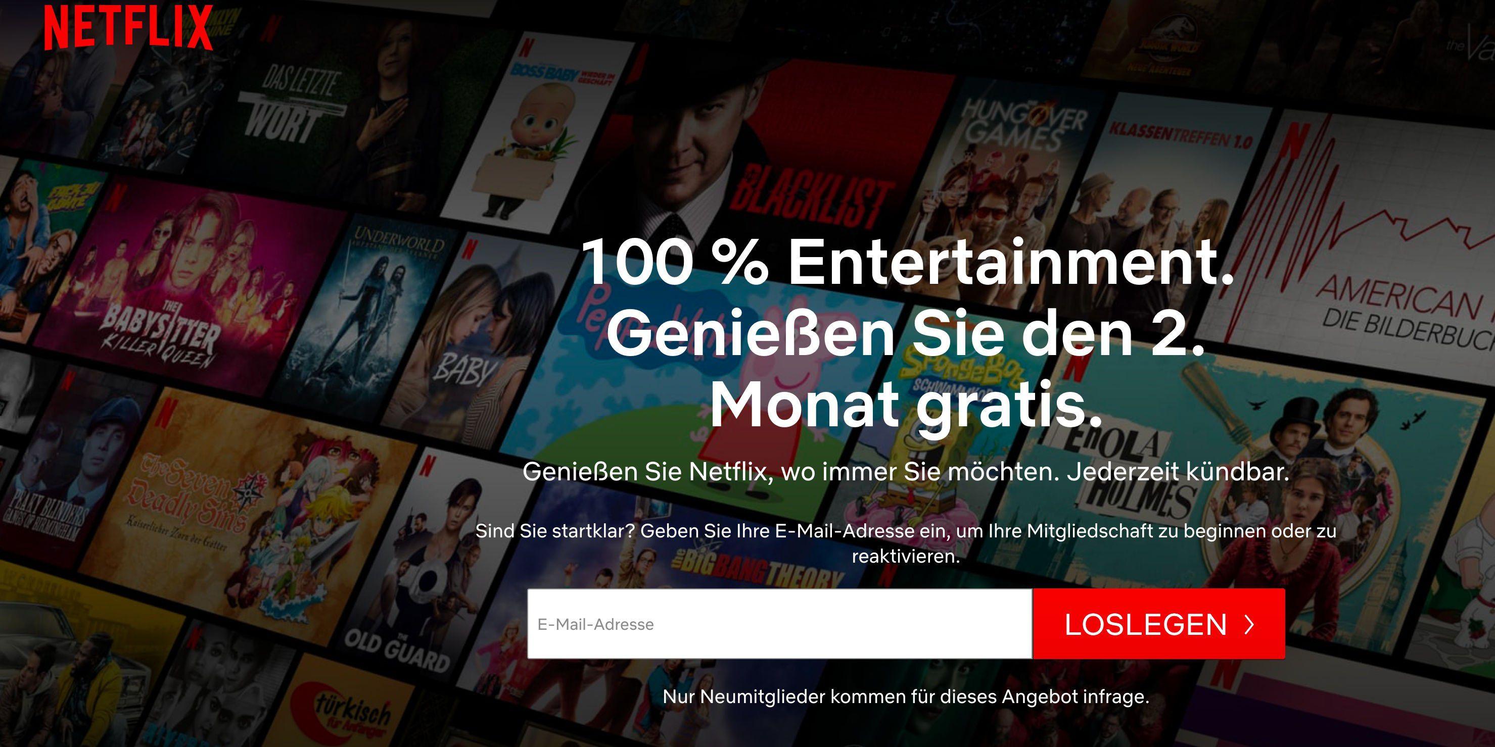 Netflix Gratis Monat ist wieder zurück   aber ganz anders   PC WELT