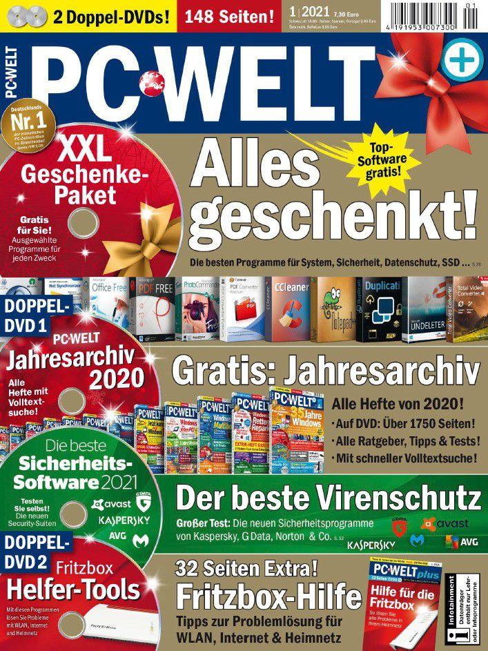 PC-WELT 1/2021: Alles geschenkt!