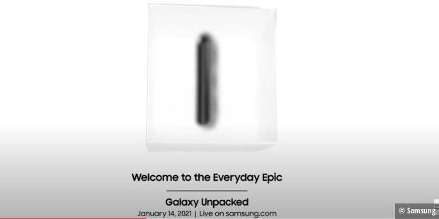 L'événement Samsung Galaxy Unpacked aura lieu le 14 janvier 2021