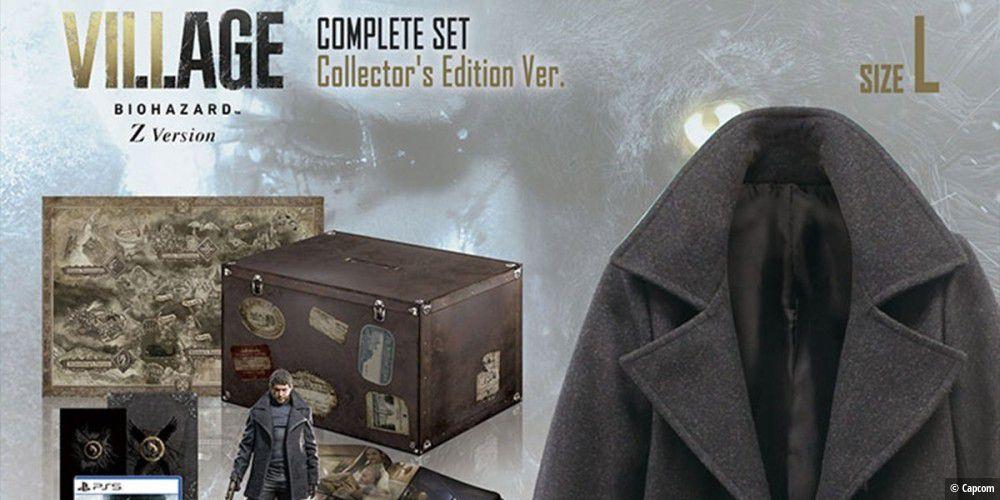 Resident Evil 8 Village: Collector's Edition für 1.500 ...
