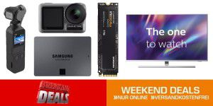Weekend-Deals: Action-Cams, TVs + weitere Top-Angebote