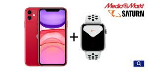 iPhone 11 + Apple Watch S5 + 120 GB für 6 Euro mtl.