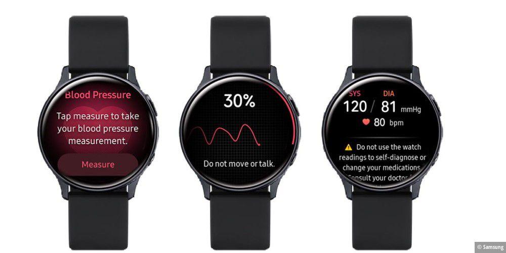 Samsung-Smartwatches: Blutdruck messen und EKG erstellen - PC-WELT