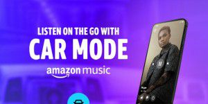 Amazon Music bekommt Car Mode